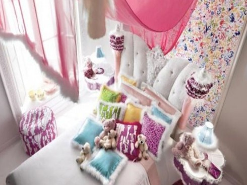 This Is The Most Beautiful Girlsu0027 Room Iu0027ve Ever Seen! Chic, Elegant And  Colorful. Charming And Opulent Pink Girls Room Altamoda Girl 7 Beautiful  Little ...