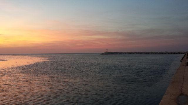tramonto al porto sunset #tramonto #sunset #rimini