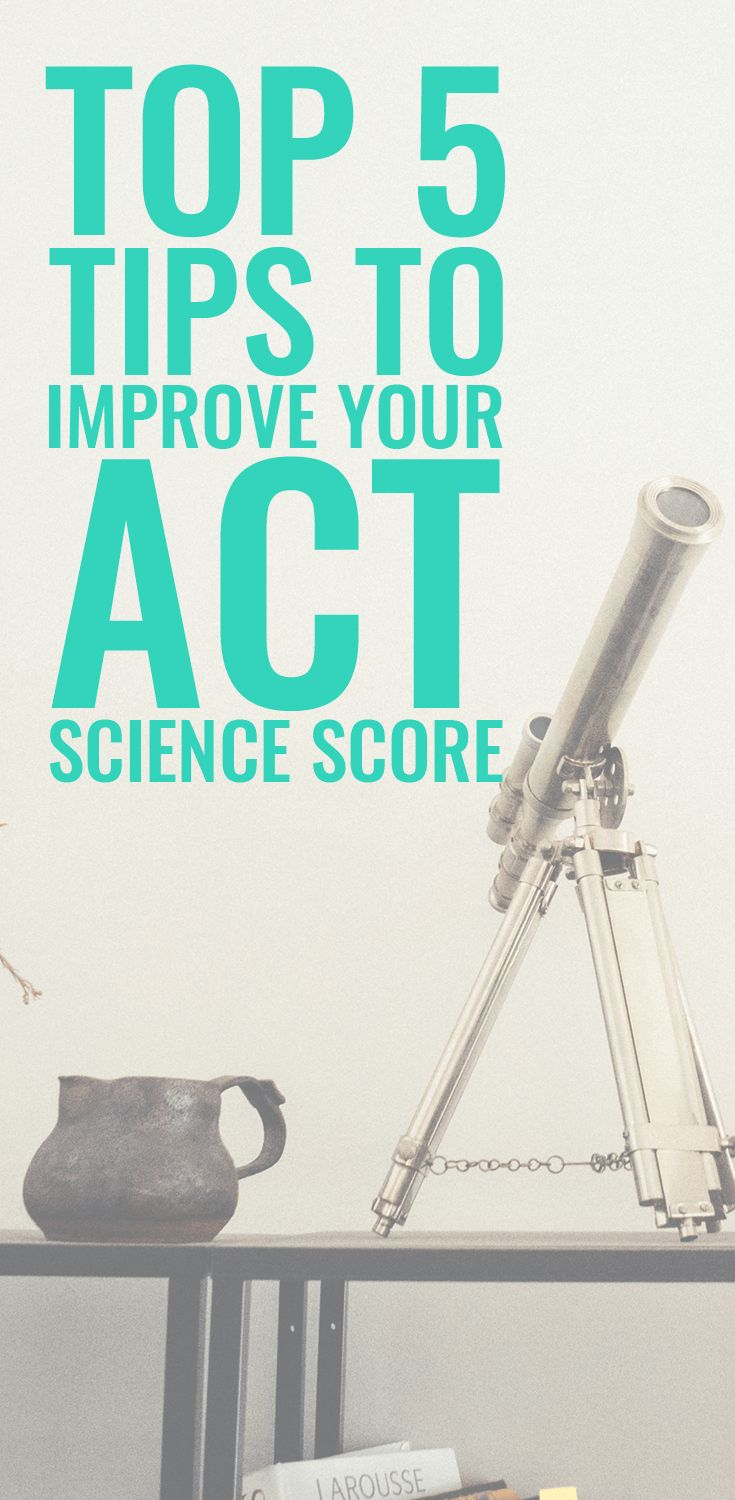 Super helpful article on how to QUICKLY improve my ACT Science score. Thankful for this because this is my worst area on the ACT!