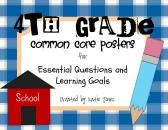 4th Grade Common Core {Essential Questions & Learning Goals - Marzano} product from Katie-Jones on TeachersNotebook.com