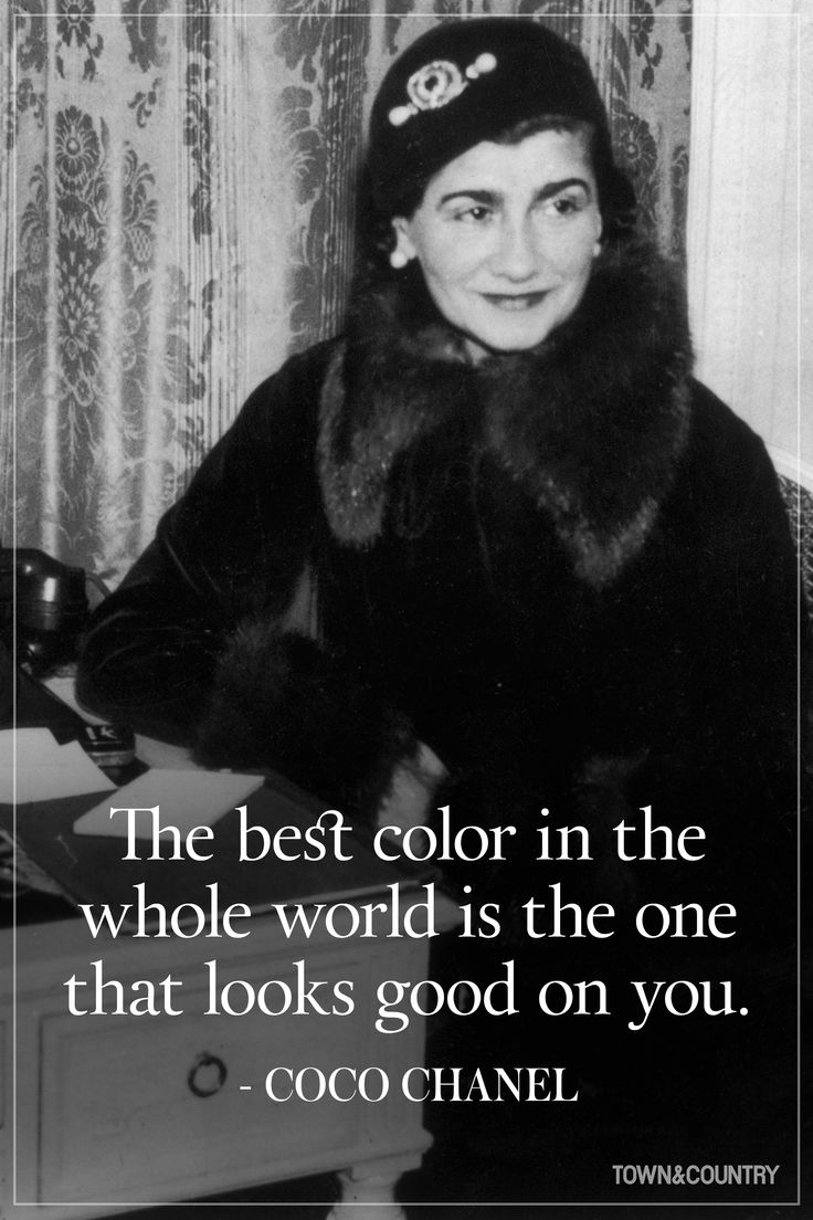 Black dress up quotes - 14 Coco Chanel Quotes Every Woman Should Live By