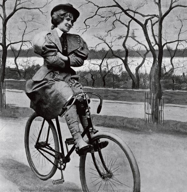 Click on the picture for 41 don'ts for female cyclists, published in 1895 in New York World-  We've come a lonnng way!1890, Ducks Tape, Vintage, Bikes, Cycling, Bicycles Circa, Woman, Wheels, Circa 1895