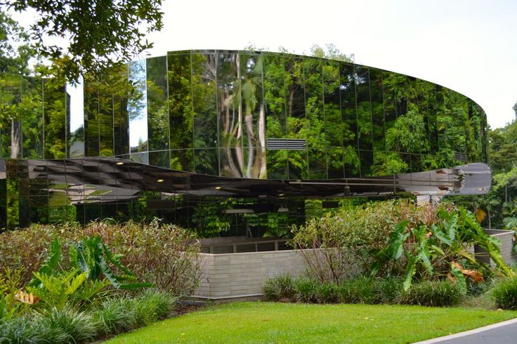 The absolutely wonderful Visitor Centre in Cairns Botanic Garden.
