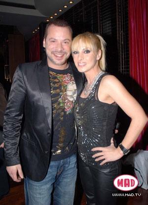 Peggy Zina with Xristos Dantis (greek singer)