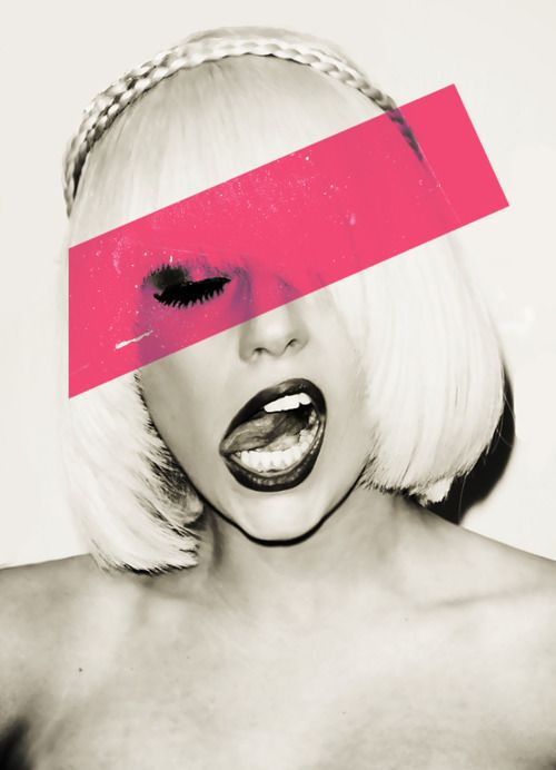 black, fashion, gaga, lady gaga, pink #MotherMonster #LadyGag