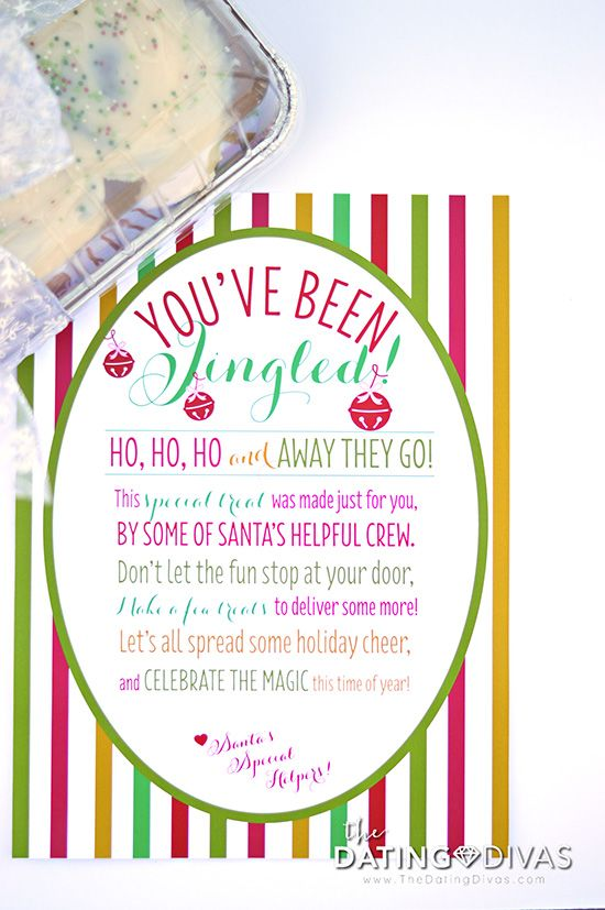 Spread holiday cheer this year! FREE You've Been Jingled printable!