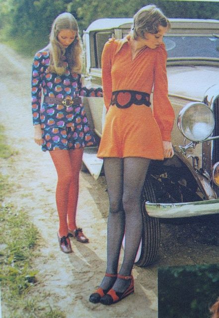 1960s, love these outfits!