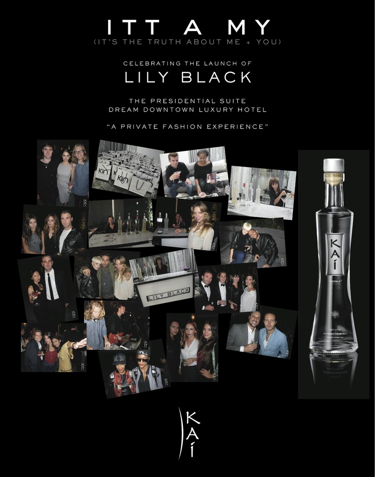 Kai Spirits at the Lily Black event, NY 2012