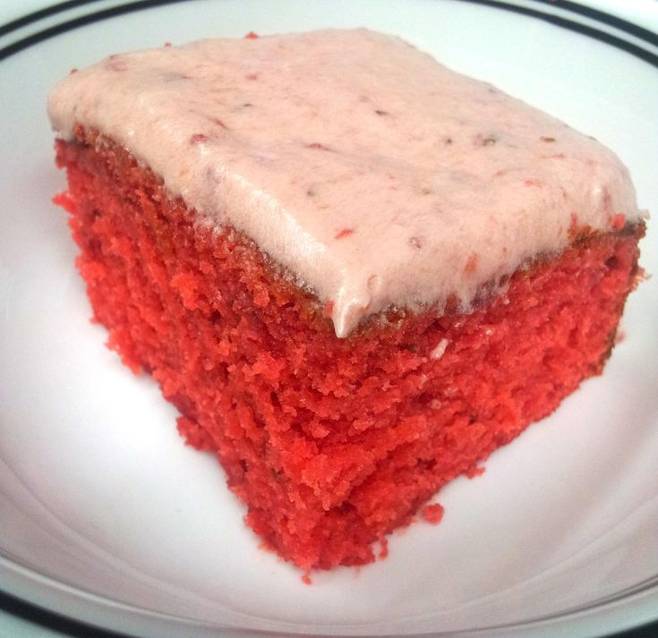 Moist Strawberry Cake Recipe The O Jays Friends And