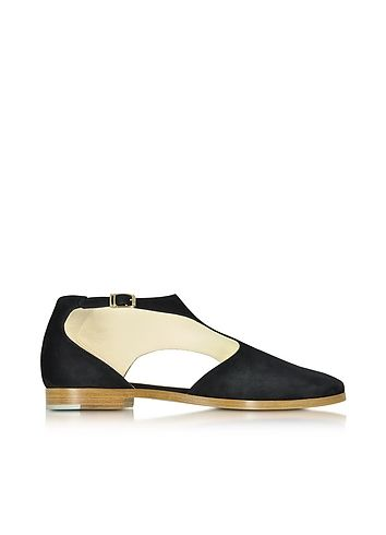 Zoe+Lee+Triumph+Black+Suede+Shoe