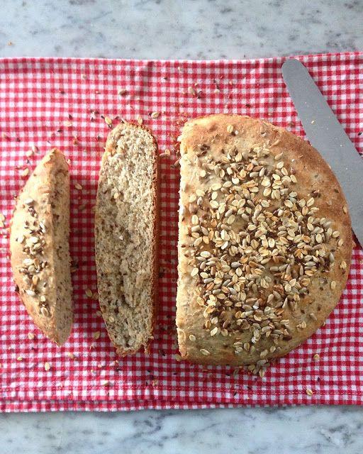Burro e Alici: Pane integrale ai semi in casseruola