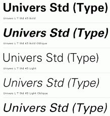 Image result for universe font