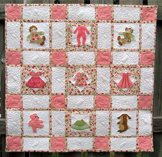 Fabric For Quilting For Little Girls Sweet And Cheerful