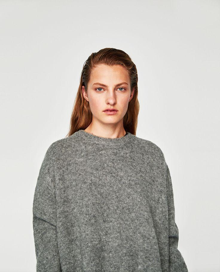 Camisola oversize (cinzento): ZARA (25,95€)