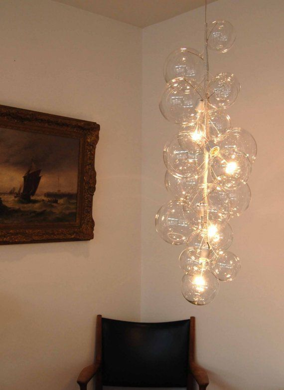 Bubble Chandelier Tall Size By Jean Oliver Pelle