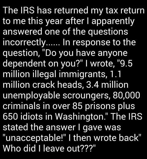 The 650 idiots in Washington are the ones that bug me.....