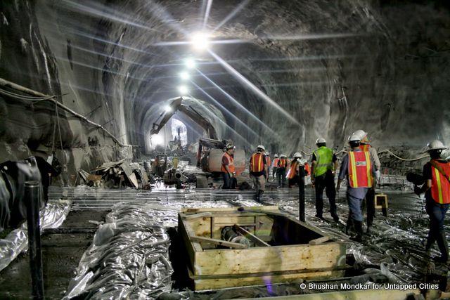 Descending into the Second Avenue Subway Construction in NYC [PHOTOS]