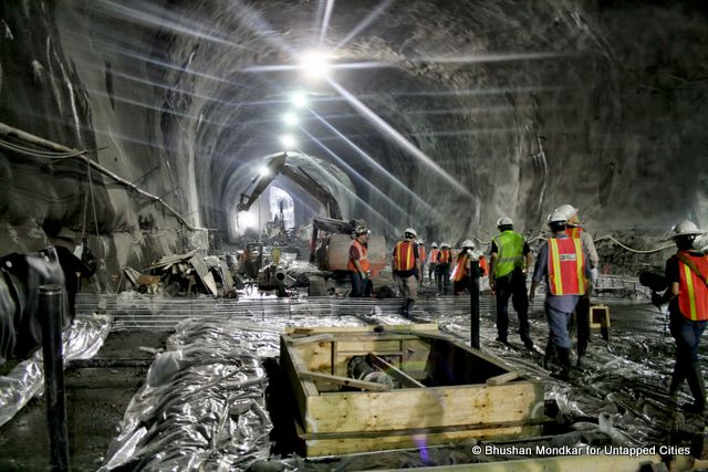 Descending into the Second Avenue Subway Construction in NYC [PHOTOS]