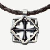 Warrior pendant, Sterling silver, leather, 115€, Design by Eelis Aleksi