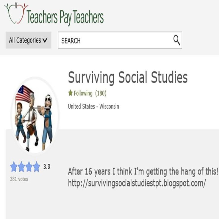 Click on the GREEN STAR on the front page of my Teachers ...
