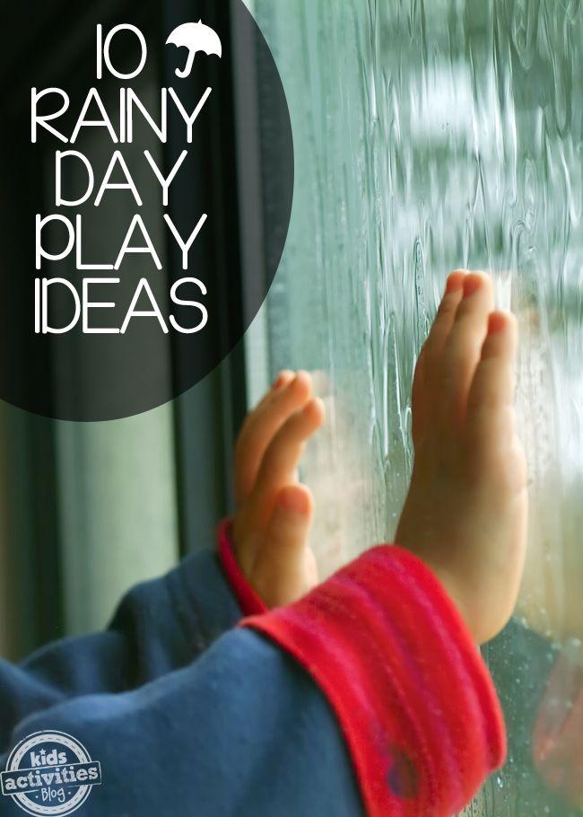 10 Rainy Day Play Ideas - Kids Activities Blog