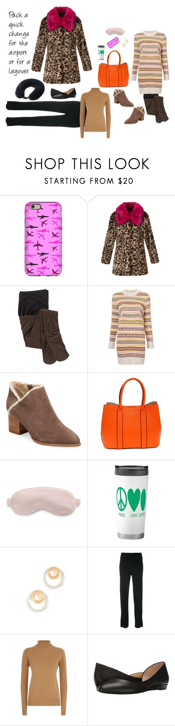 """""""Ready For Flight"""" by canoe-communicationsblog ❤ liked on Polyvore featuring Unreal Fur, STELLA McCARTNEY, Seychelles, Suzy Levian, Slip, Madewell, Cashmere in Love, Victoria Beckham, Jessica Simpson and Lewis N. Clark"""