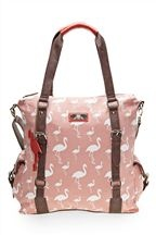 """cute flamingo bag. I Must have this bag. Yes, I said """"must""""."""