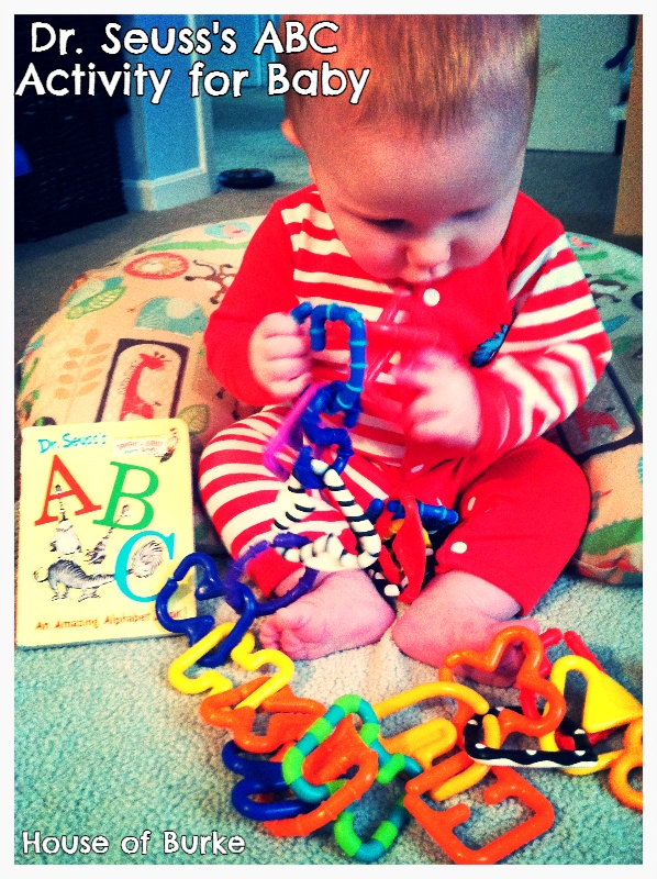 House of Burke: Dr Seuss Week: Dr. Seuss's ABC Book Activity for Baby