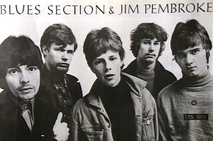Blues Section in 1967. Blues Section was a Finnish rock band. Left to right: Jim Pembroke, Eero Koivistoinen, Ronnie Österberg, Hasse Walli, Måsse Groundstroem.