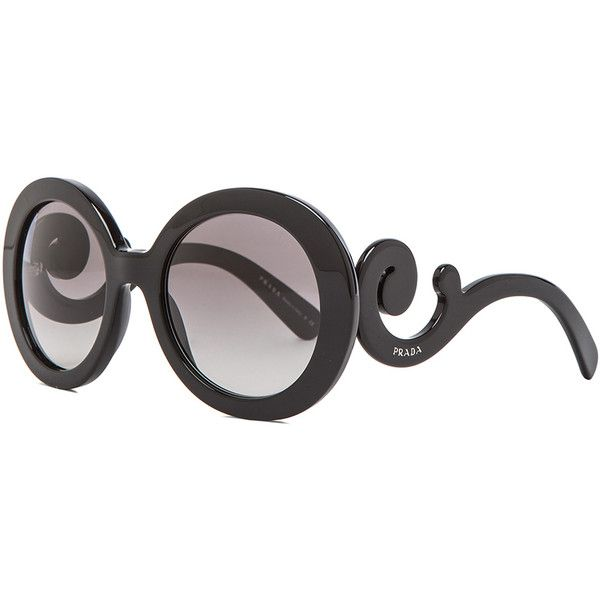 Prada Baroque Sunglasses ❤ liked on Polyvore featuring accessories, eyewear, sunglasses, prada, baroque sunglasses, prada sunglasses, prada glasses and prada eyewear