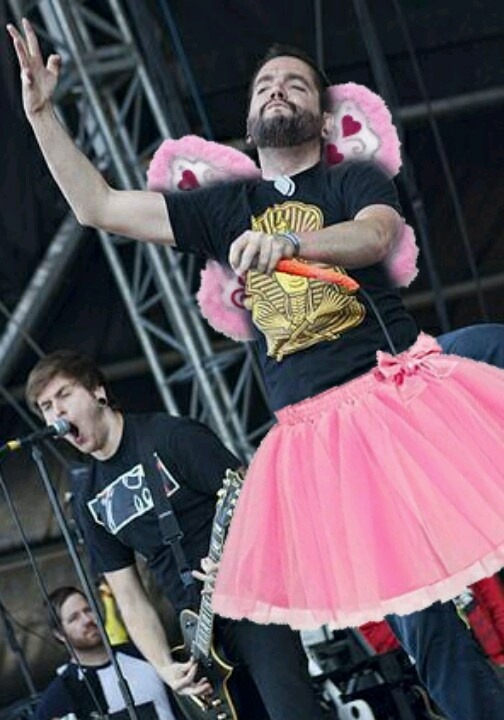 A Day To Remember. There is Jeremy Mckinnon looking fabulous as always!