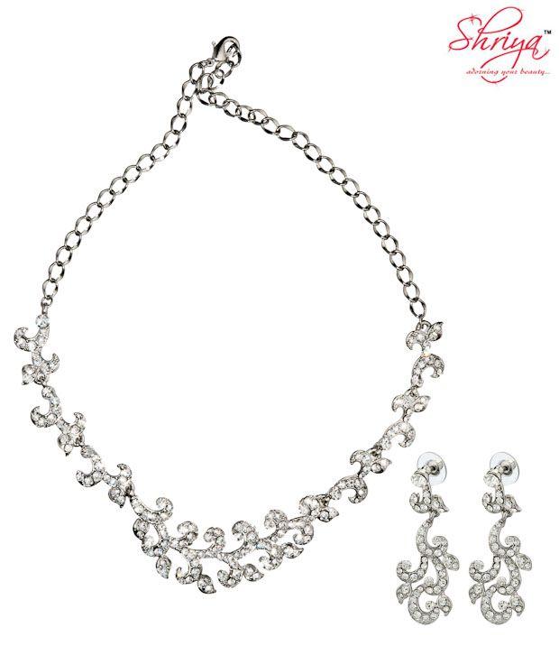 Shriya Splendid Necklace Set with Austrian Diamonds