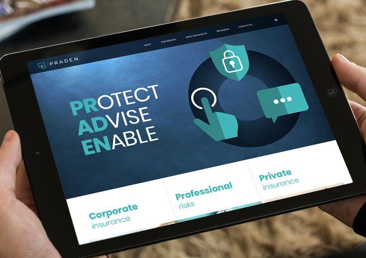 Praden  - website launch Dec 2017