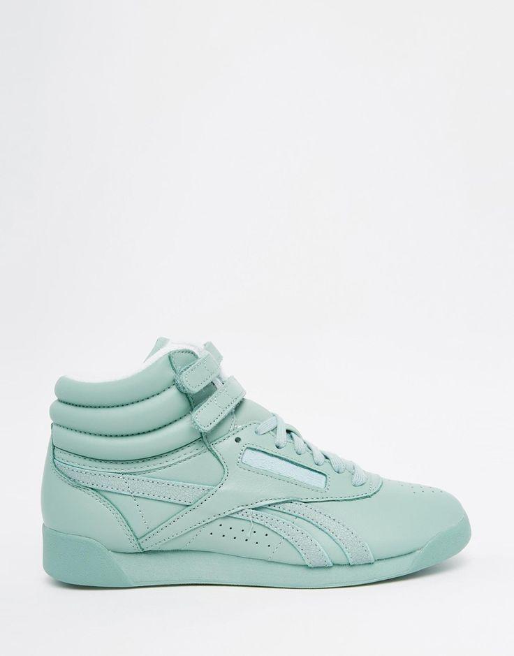 Bild 2 von Reebok – Freestyle Hi Spirit – Minzgrüne Sneakers