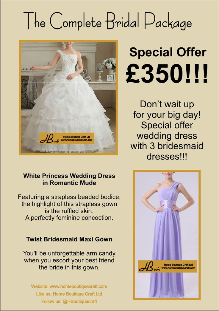 The Complete Bridal Package £350