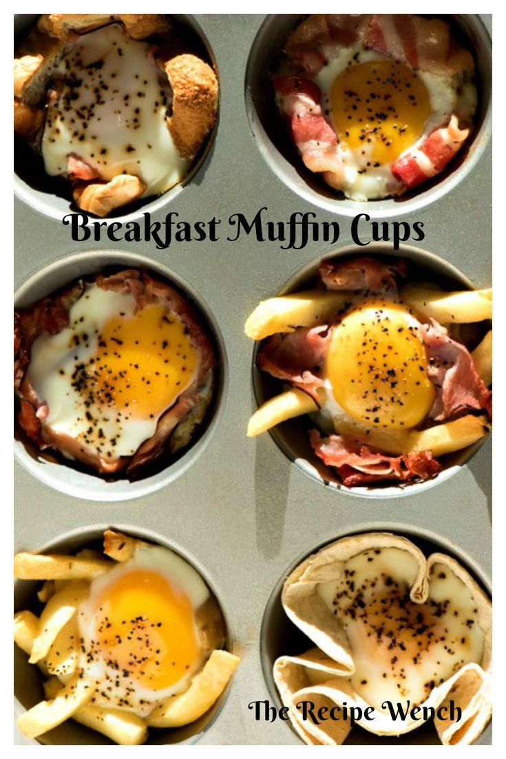 Breakfast Muffin Cups | Recipe | Breakfast egg muffins ...