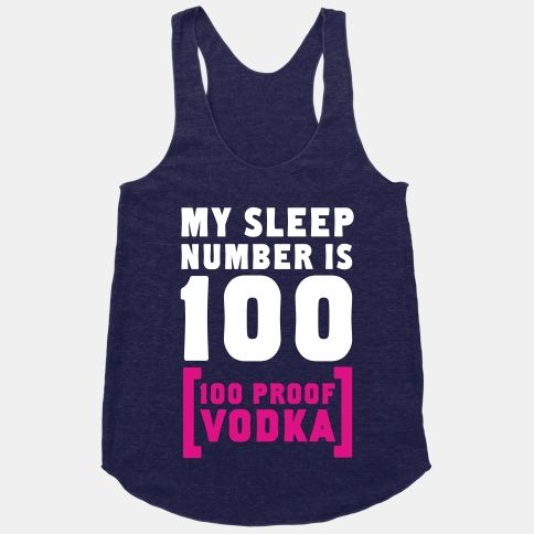 My Sleep Number is 100... #sleepnumber #vodka #humor #100proof