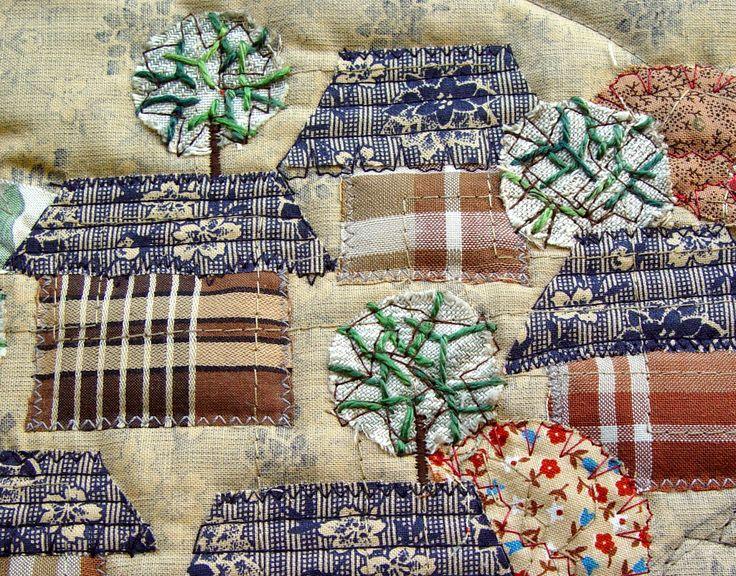 The Textile Cuisine: Little Quiet Village / Mała Cicha