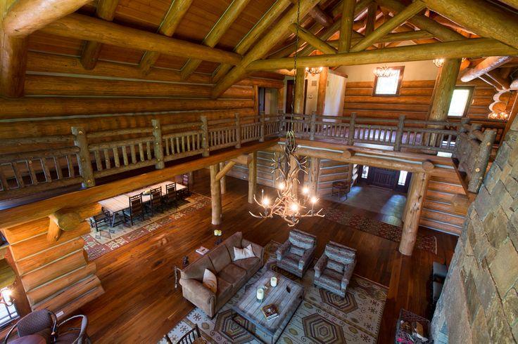 Wooden Cabin Living Room