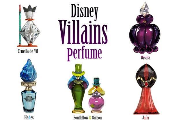 Artista japonesa cria coleção de perfumes com vilões da Disney