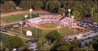 East Carolina's  Lewis Field at Clark-LeClair Stadium