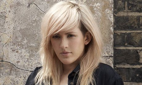 I love even the shaved part of this 'do, but thinking about what the grow out would be like... [Ellie Goulding]
