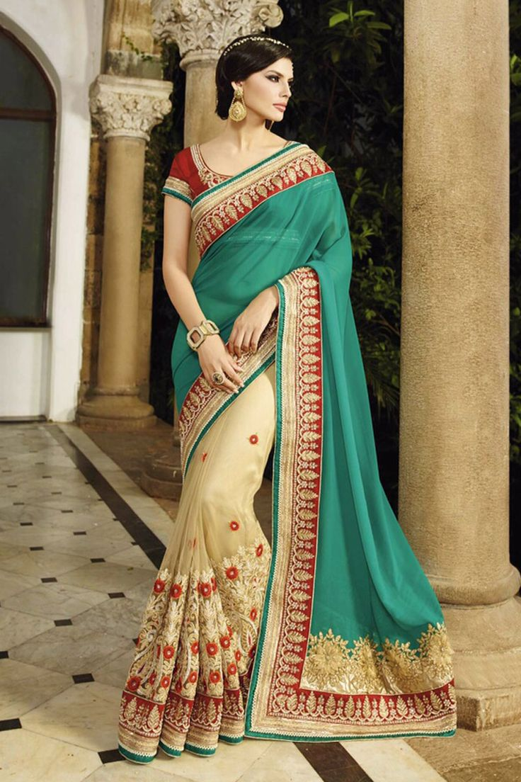 Buy designer saree online only at craftnshop were you get all types of designer saree at very affordable price