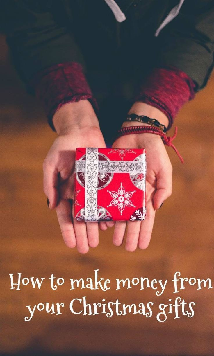 How to make money from your Christmas Gifts - how to reuse unwanted christmas gifts.