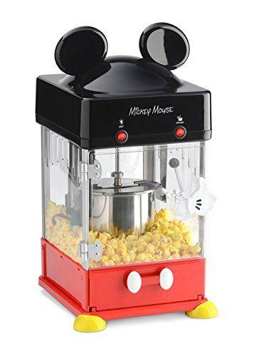 Disney Mickey Kettle Style Popcorn Popper Disney