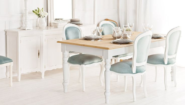 Classic white dining