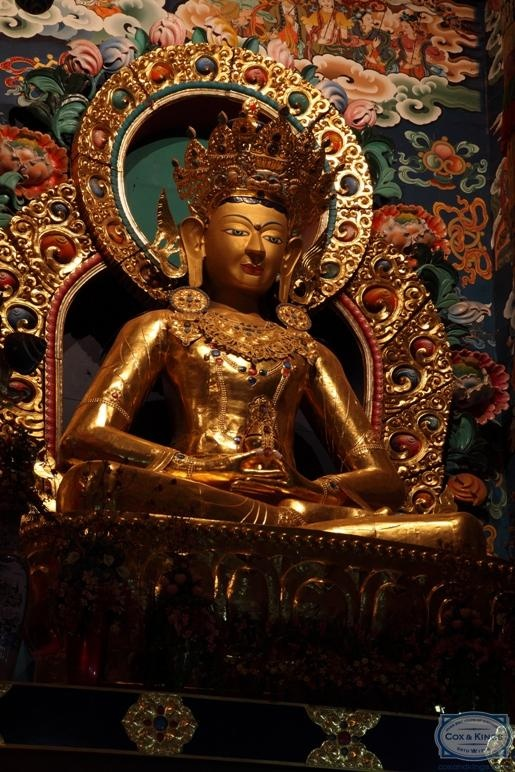 Coorg: For a plantation holiday. Discover the delights of the Tibetan settlement in Coorg and visit the beautiful monastery at Kushalnagar to see the Golden Buddha. #CoxandKings