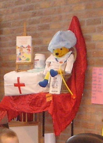 Dokter Pompom. Prins Clausschool Zutphen.
