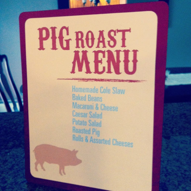 Classic Events By Kris; Pig Roast Party