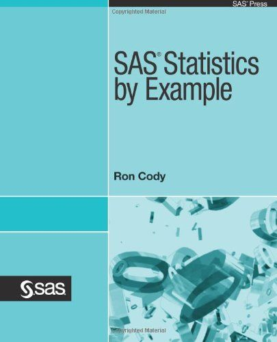 From 24.78 Sas Statistics By Example